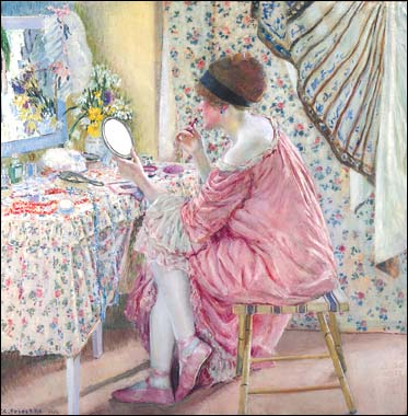 Before Her Appearance by Frederick Carl Frieseke