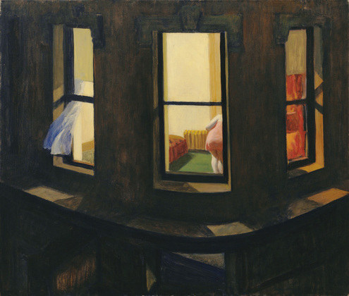 Night Windows by Hopper