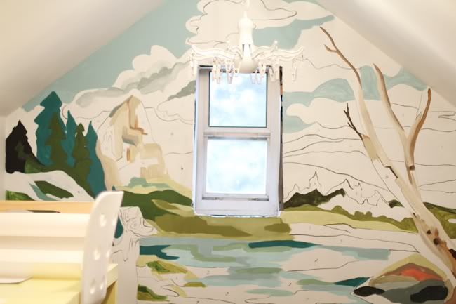 friday design finds if these walls could draw artsy forager branches paint by number wall mural