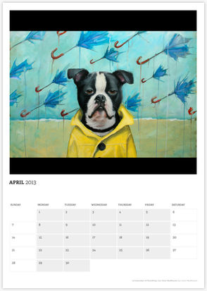 Faithful, A Calendar of Paintings by Clair Hartmann