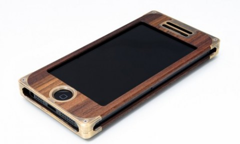 Wood & Brass iPhone case from EXOVault