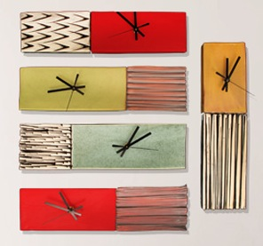 Box Clocks by Ed & Kate Coleman