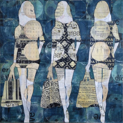 Blue Circle Girls by Jane Maxwell