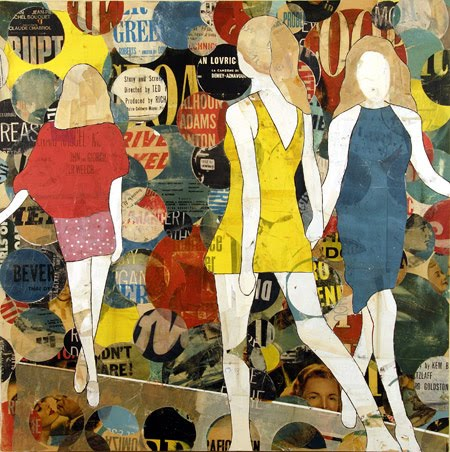 Runway Girls and Circles by Jane Maxwell