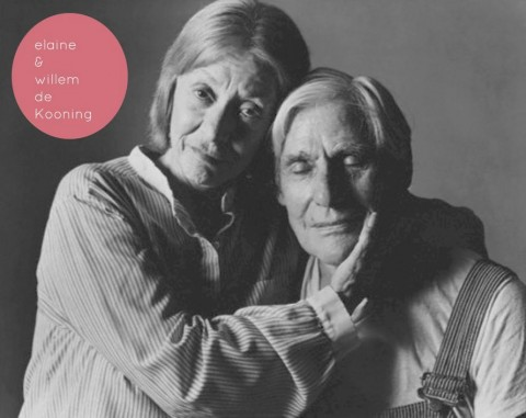 Willem and Elaine De Kooning