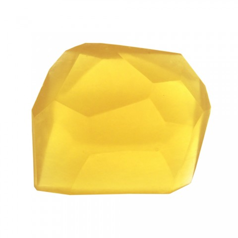 Citrine/Lemon Basil Rock Soap Stone by Pelle
