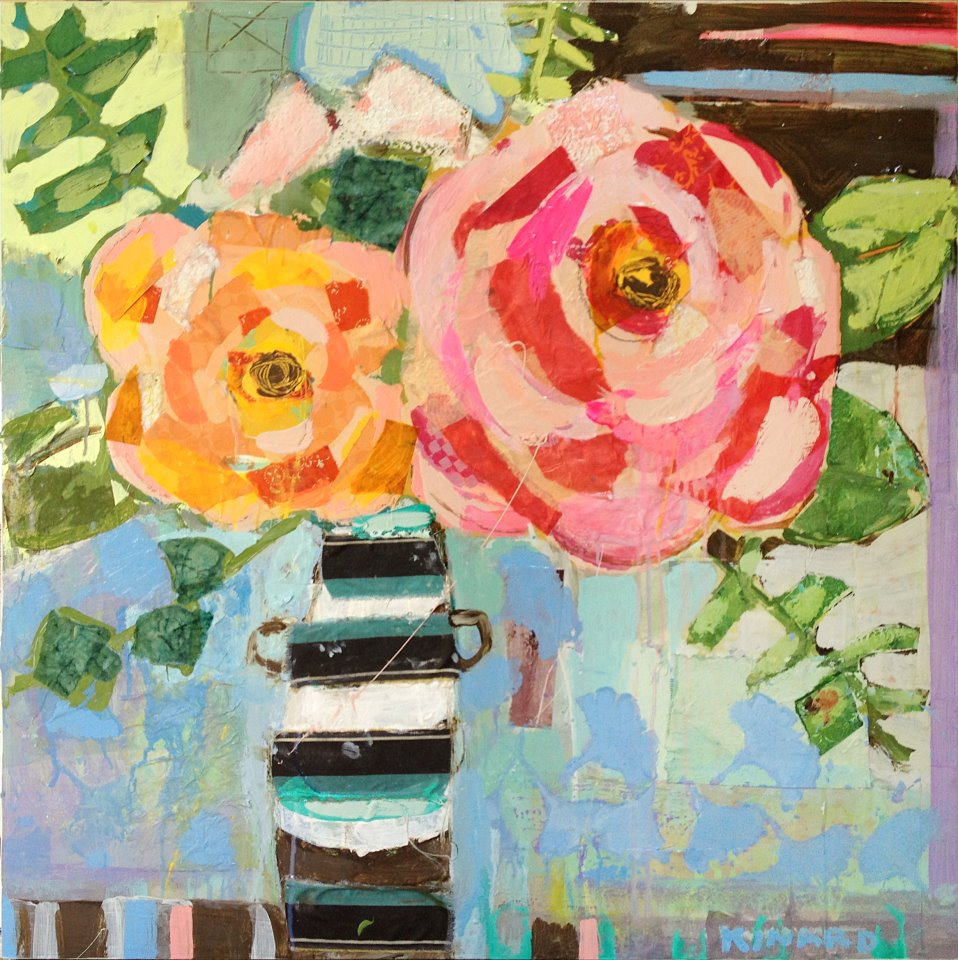 Stripes and Roses by Christy Kinard