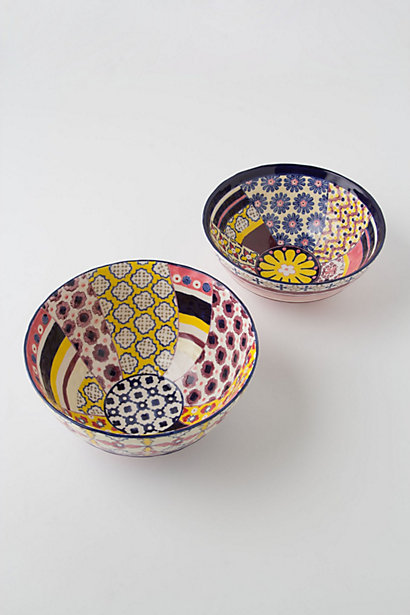 Patchwork Harvest Bowls from Anthropologie