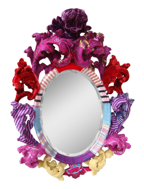 Small Baroque Mirror by Squint Limited
