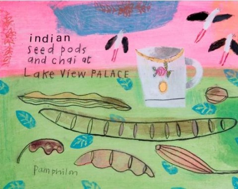 Indian Seed Pods and Chai by Elaine Pamphilon