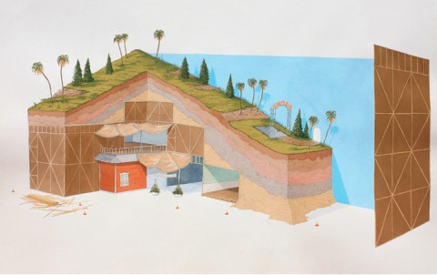 Double-Wide Bunker with Paradise Package by Joseph Phillips
