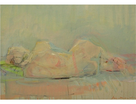 Reclining by Kate Long Stevenson