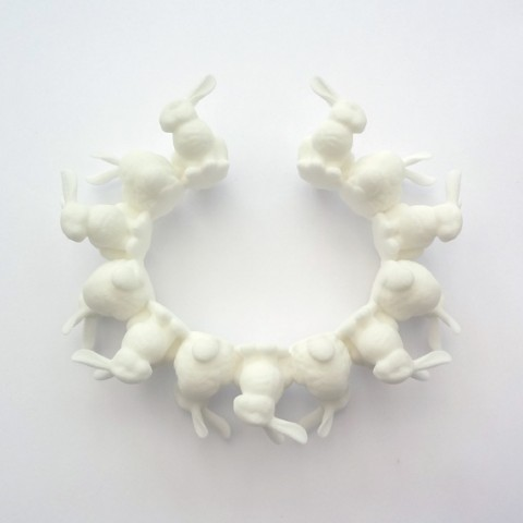 Rabbit Bracelet by Ineke Otte