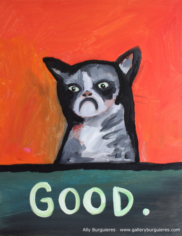 Grumpy Cat by Ally Burguieres