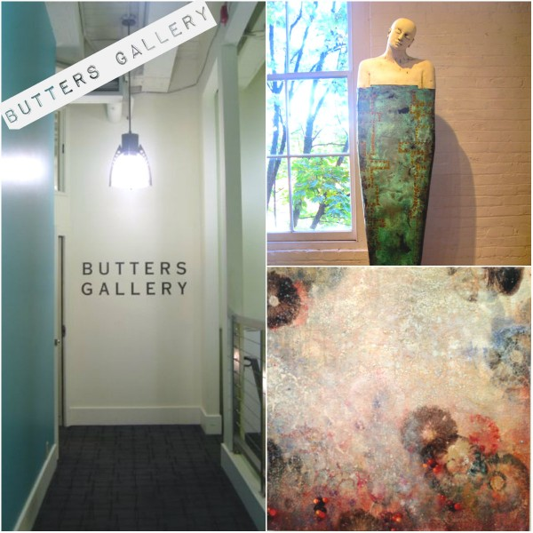 BUTTERS GALLERY collage