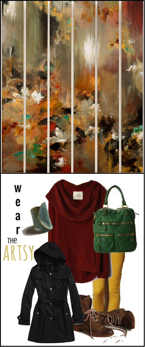 Wear the Artsy collage