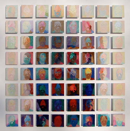 Hommage to Chuck Close by Holly Frean