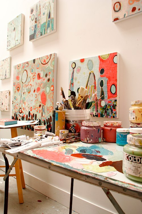 How to Commission Artwork featuring work by Erin McIntosh | artsy forager #art #artists #howto #painting