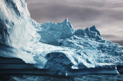 Zaria Forman | artsy forager #art #artists #landscape #greenland