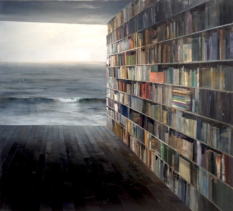 Miranda_Library with Grey Sea