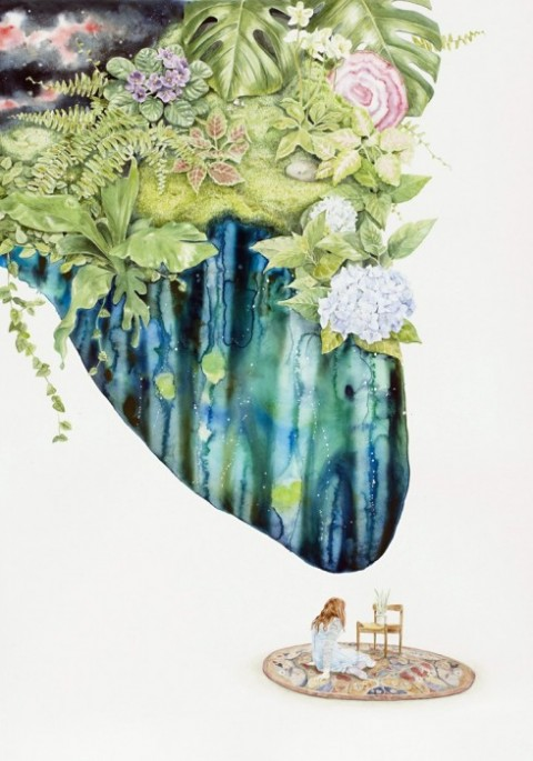 Carmel Seymour | artsy forager #art #artists #painting #watercolor