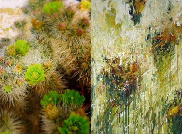 The Artsy Nature: Joshua Tree & Karen Silve | artsy forager #art #artists #abstractart #paintings #contemporaryart