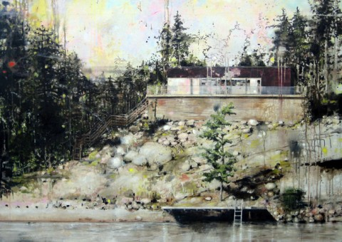 Carola Scharpals | artsy forager #art #artists #paintings #contemporaryart