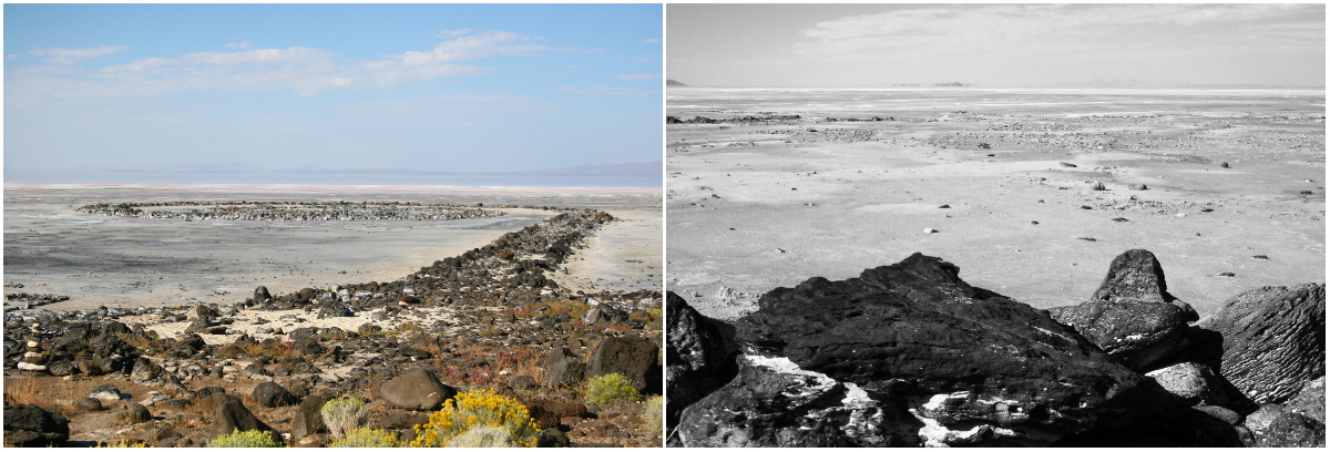 spiral jetty essay by robert smithson One is smithson's 1972 essay phillips was the contractor who built the spiral jetty for artist robert smithson steve griffin | the salt lake tribune.