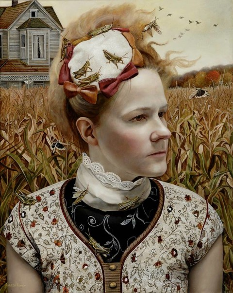 Andrea Kowch | artsy forager #art #artists #paintings #figurativeart