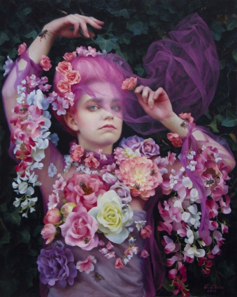 Adrienne Stein | artsy forager #art #artists #paintings #figurativeart