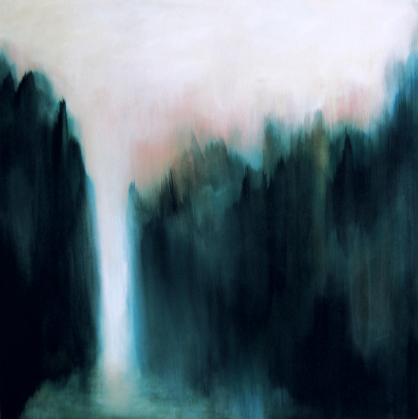 Frenz_Fern Canyon_2015_acrylic on canvas_36x36