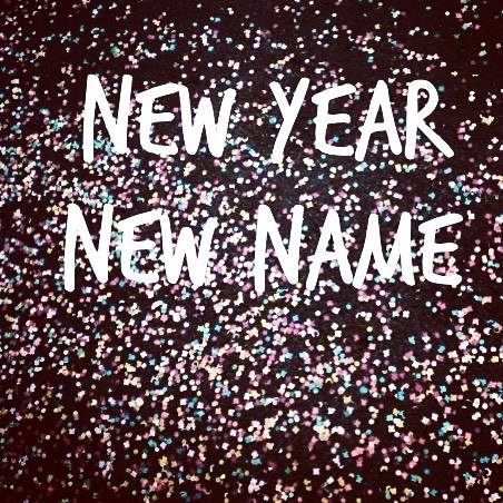New year new name