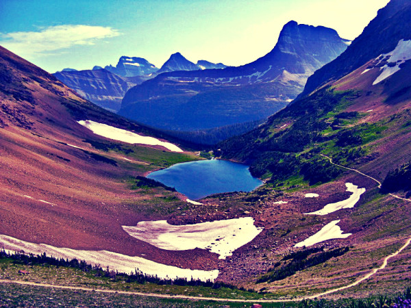 Finding Latitidue. Glacier. | artsy forager #travel #photography #inspiration #glaciernationalpark