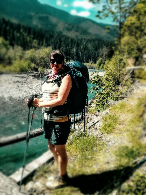 Me and my pack, Elwha River